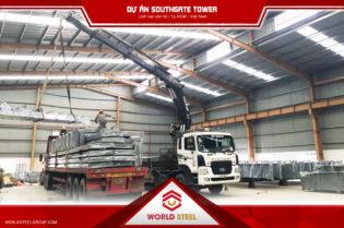 dự án kết cấu thép southgate tower