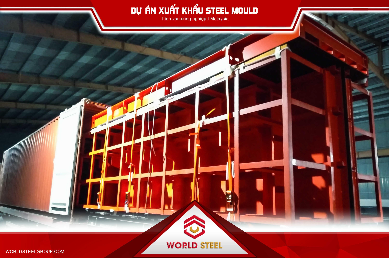 sản xuất kết cấu thép xuất khẩu