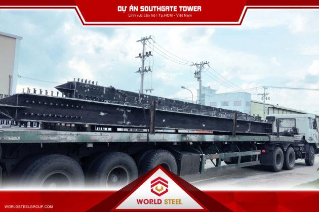 Công ty kết cấu thép Worldsteel Hợp tác dự án Southgate Tower