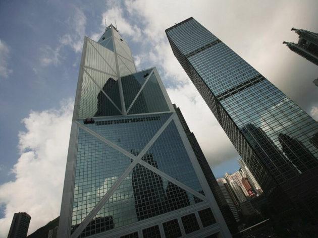 nhà cao tầng bank of china tower (1) Nha cao tầng kết cấu thép