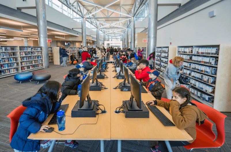 Thư viện kết cấu thép chi nhánh Elkridge 2 (1)