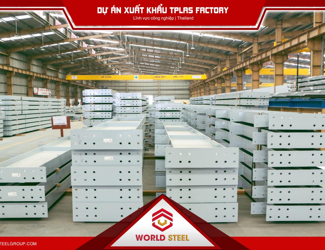 dự án xuất khẩu kết cấu thép sang thái lan