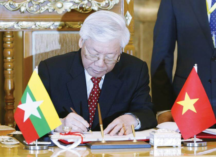 quan he ngoai giao Myanmar Viet Nam (1)